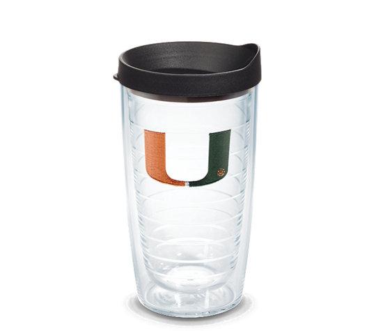 Tervis Miami Hurricanes Logo 16oz Tumbler