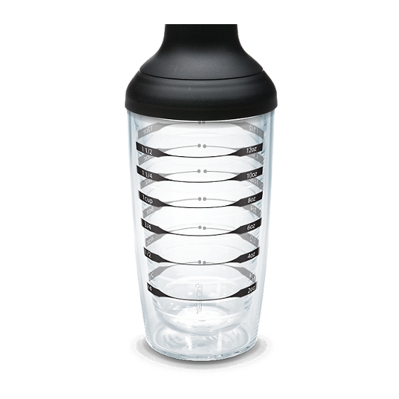 Black Measurement Shaker