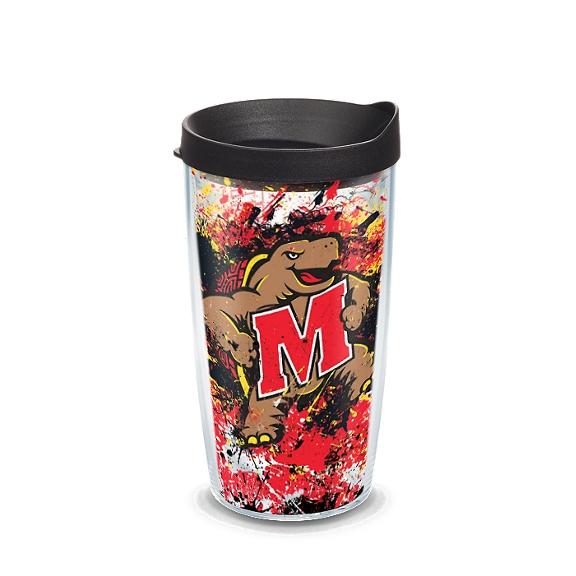 Maryland Terrapins Splatter
