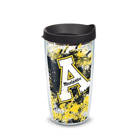 Appalachian State Mountaineers Splatter