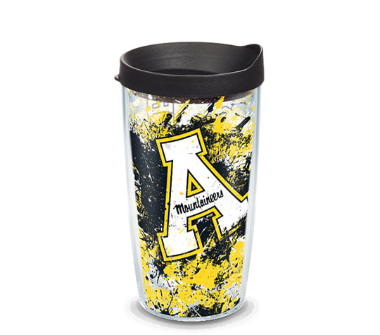 Appalachian State Mountaineers Splatter image number 0
