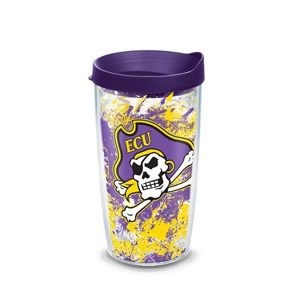 East Carolina Pirates Splatter
