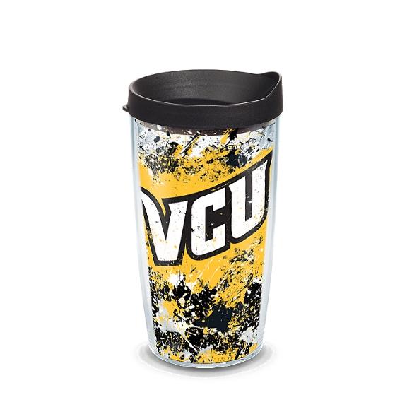 VCU Rams Splatter