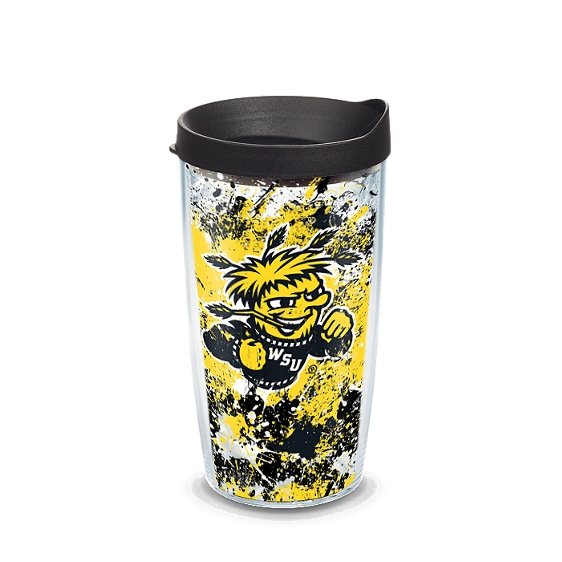 Wichita State Shockers Splatter