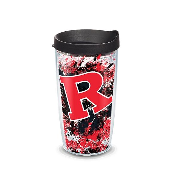 Rutgers Scarlet Knights Splatter