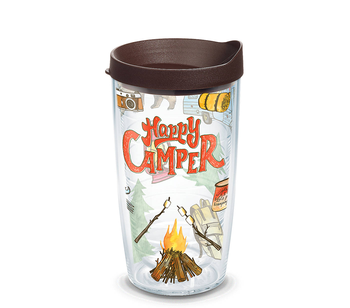 4301dcebd6a Happy Camper Wrap With Travel Lid | Tervis Official Store