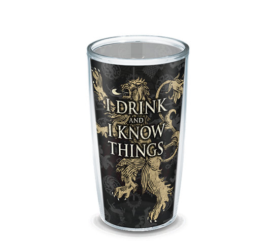 Game Of Thrones House Lannister Wrap Tervis Official