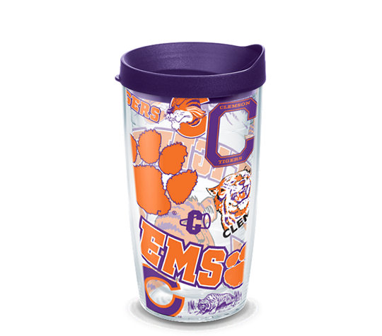 Clemson Tigers All Over image number 0