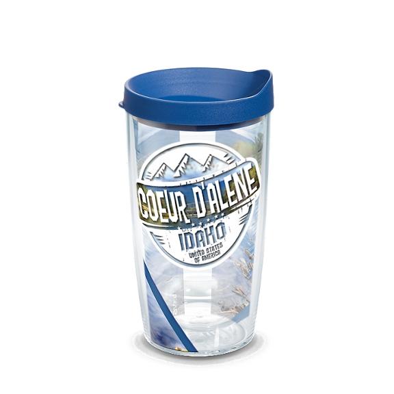 Idaho - Coeur D'Alene Stamp