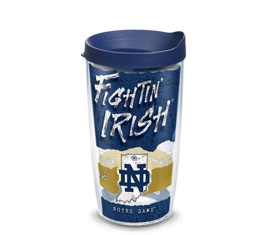 Tervis Notre Dame Fighting Irish College Statement 16oz Tumbler - College Collection