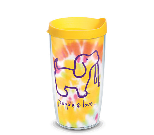 Puppie Love - Tie Dye Puppy