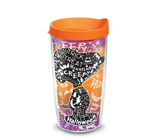 Tervis Peanuts? - Halloween Collage 16oz Tumbler
