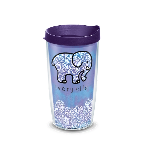 Ivory Ella - Frosted Paisley