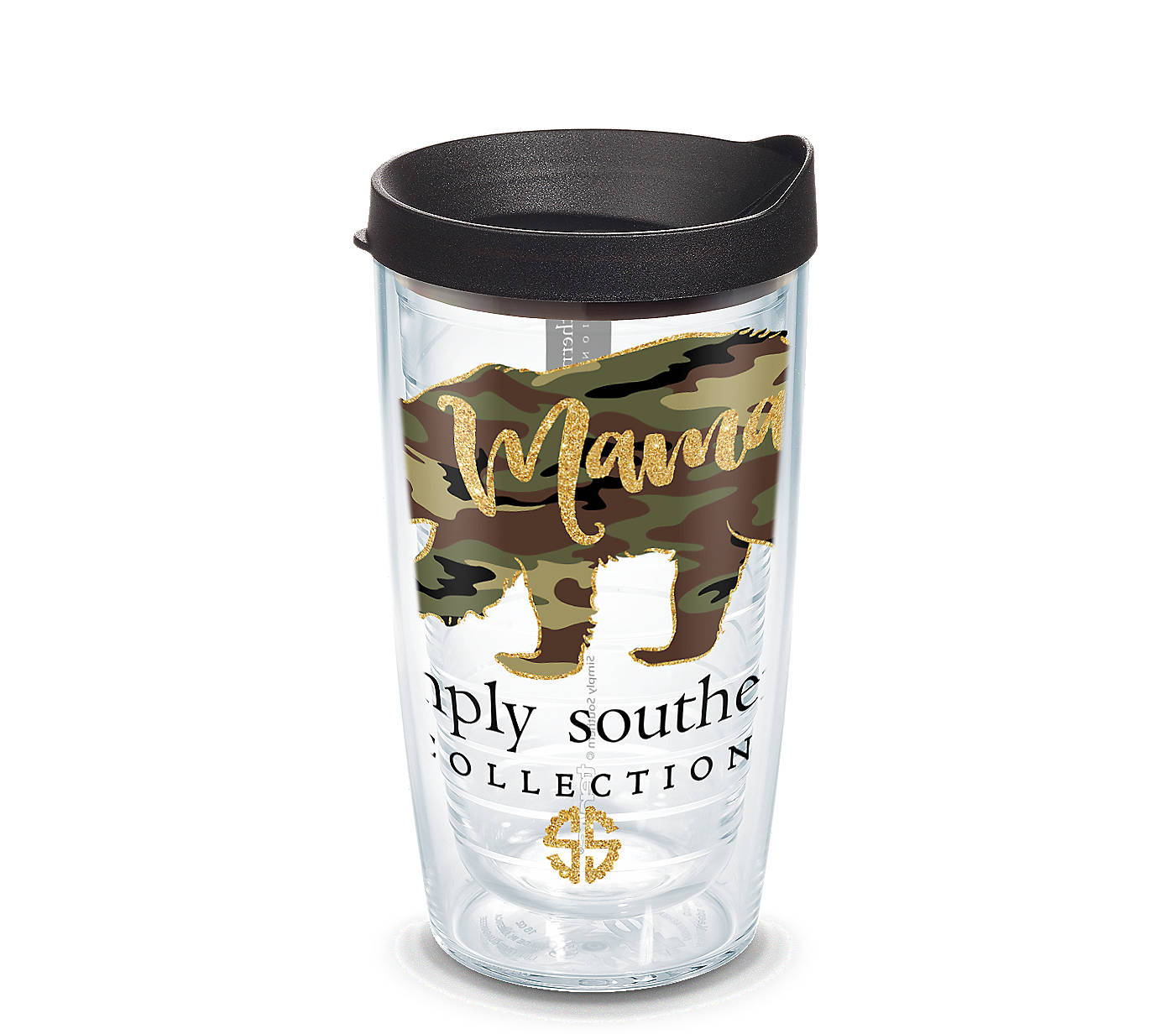9b6b1a977 Simply Southern® - Camo Mama Bear Wrap With Travel Lid | Tervis ...