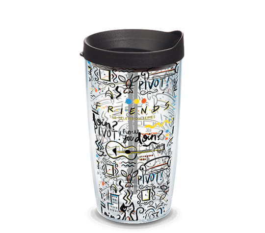 Tervis Warner Brothers - Friends Pattern 16oz Tumbler