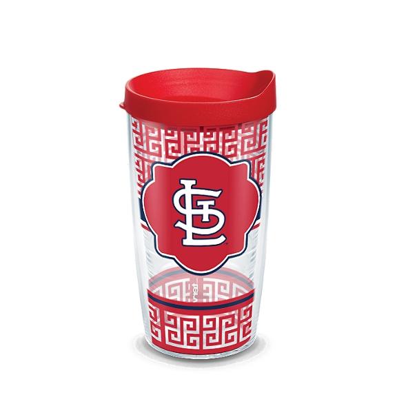 MLB® St. Louis Cardinals™ Greek Key