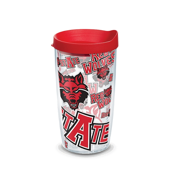 Arkansas State Red Wolves All Over