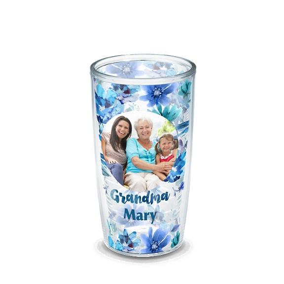 Grandma Blue Floral