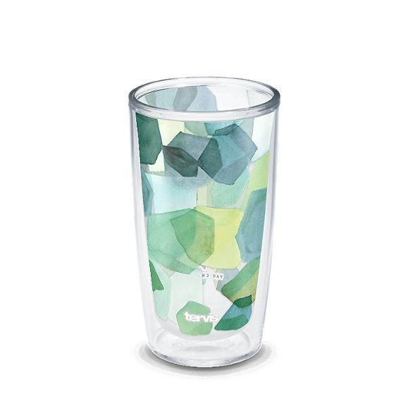 Yao Cheng - Hexagon Green Blue