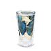 Blue Gilt Ginkgo Leaf