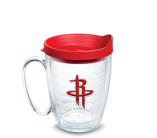 new product 7f726 36b17 NBA® Houston Rockets Primary Logo Emblem With Travel Lid ...