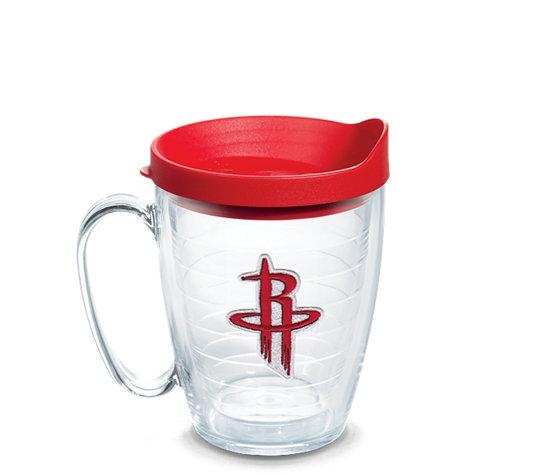 new product 5df4b 44dd7 NBA® Houston Rockets Primary Logo Emblem With Travel Lid ...