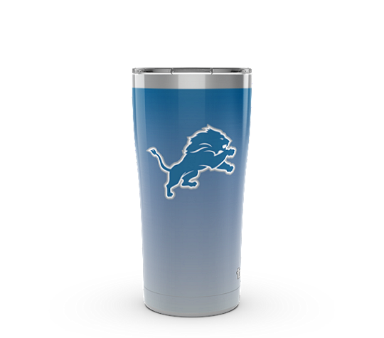 NFL® Detroit Lions Ombre 20 oz Stainless Steel With Slider Lid