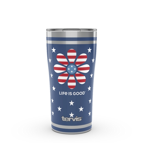 Life is Good® - Daisy Stars and Stripes