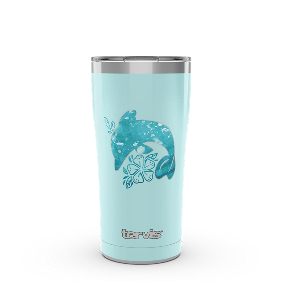 Dolphin Aqua Icon