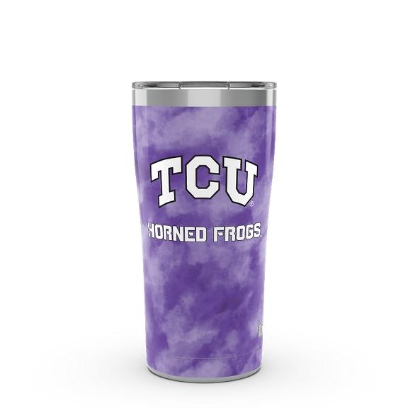 TCU Horned Frogs Tie Dye