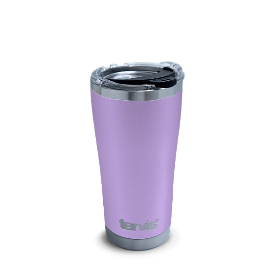 Powder Coated Stainless Steel Tumbler, Lilac