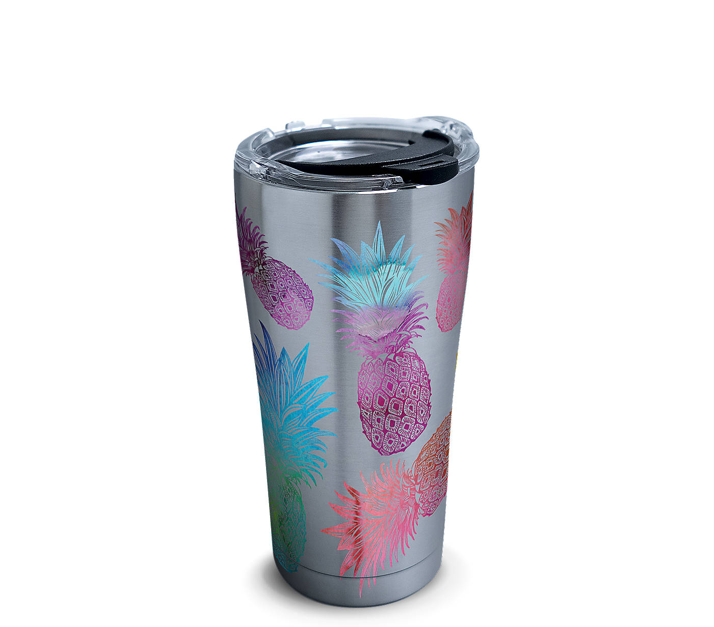 95e8b08cff Watercolor Pineapples Stainless Steel With Hammer Lid | Tervis ...