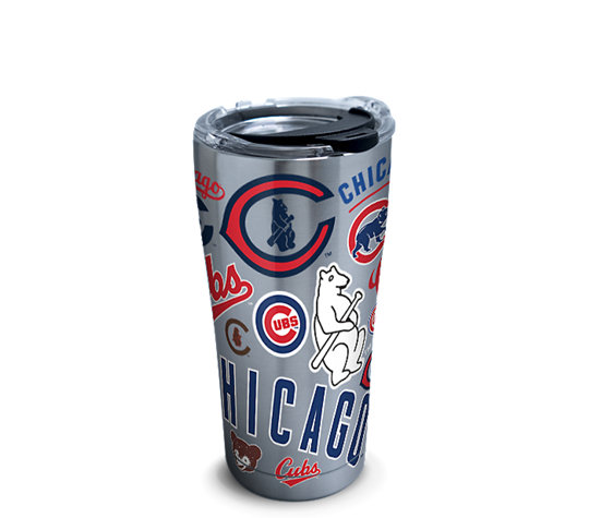 Mlb 174 Stainless Steel Tumbler Chicago Cubs All Over With