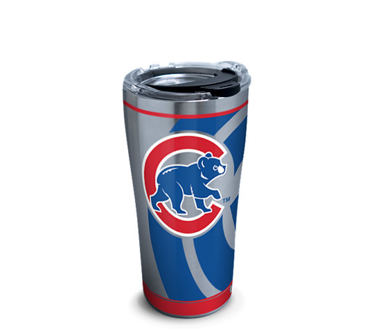 Stainless Steel Tumbler Mlb 174 Chicago Cubs Genuine With