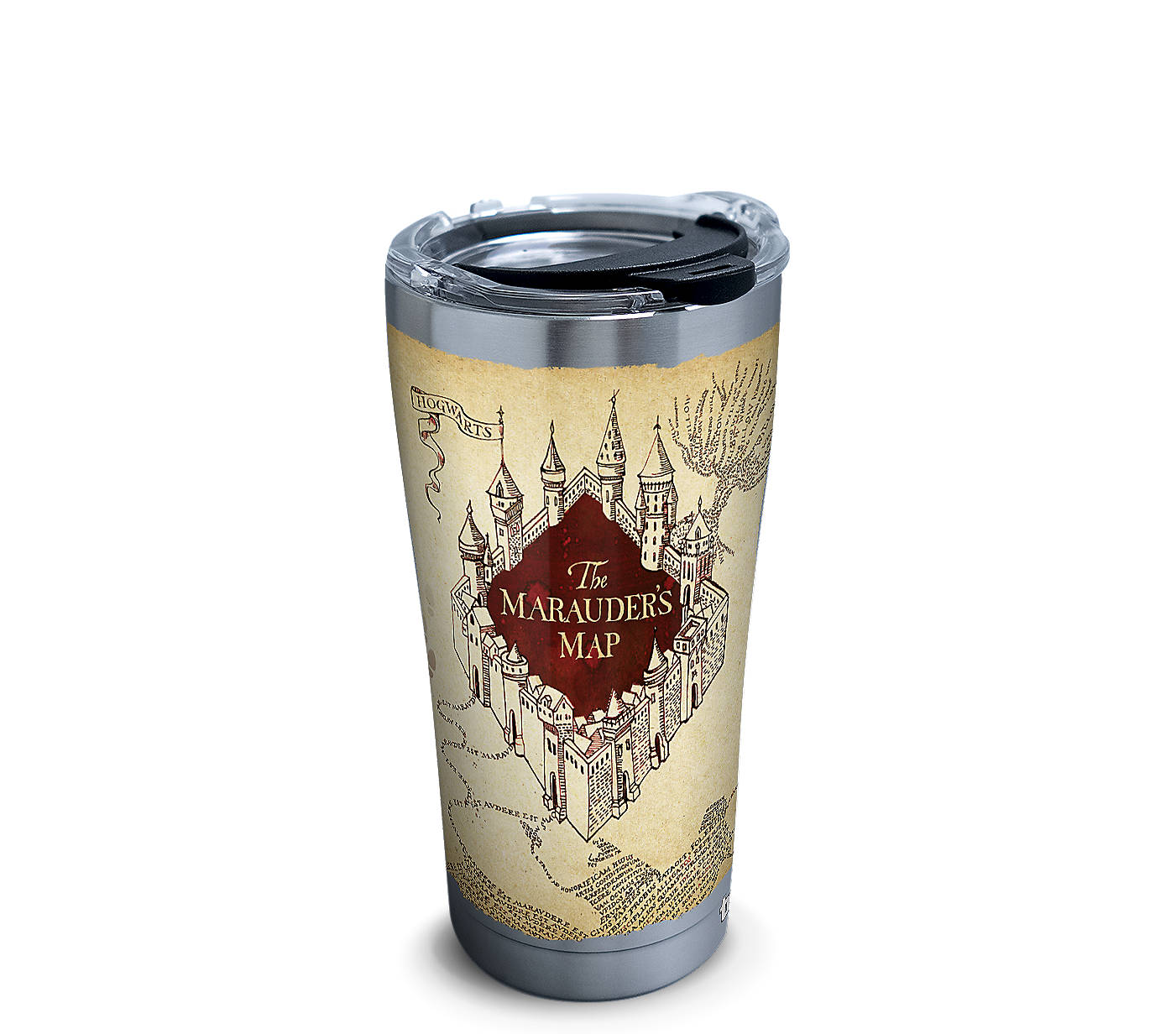 Harry Potter™ - The Marauder's Map Stainless Steel With Hammer Lid on