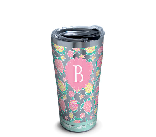 INITIAL - B Simply Southern® - Pastel Turtle