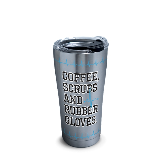 Nurse Life - Coffee, Scrubs and Rubber Gloves