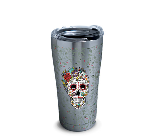 Fiesta® - Skull and Flowers image number 0