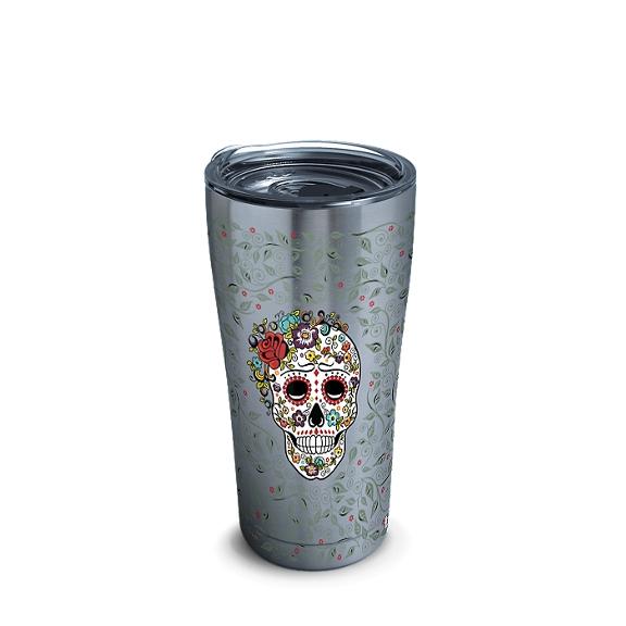 Fiesta® - Skull and Flowers