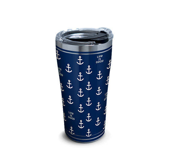 Life is Good® - Navy Anchor Pattern image number 0