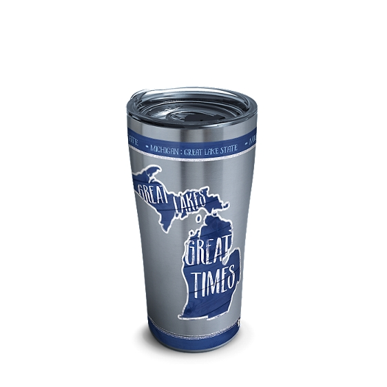 Michigan State Outline Tumbler