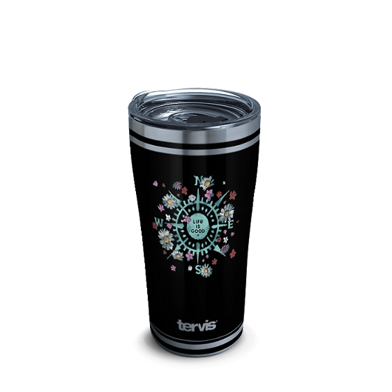 Life is Good® - Floral Compass