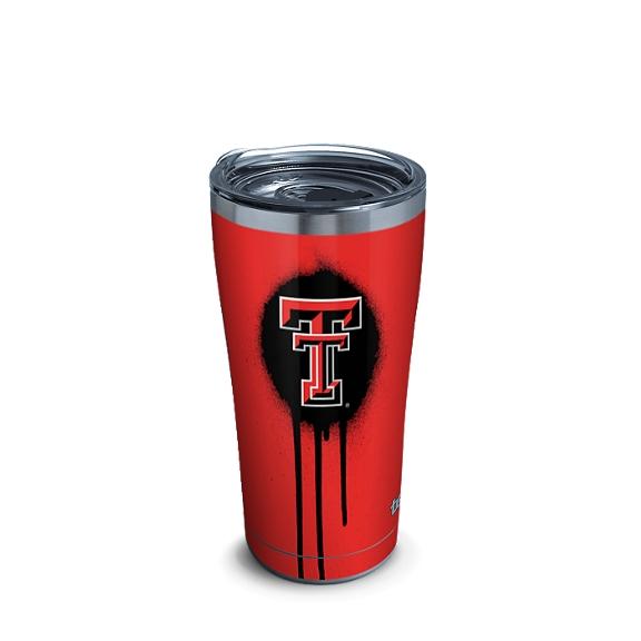 Texas Tech Red Raiders Graffiti