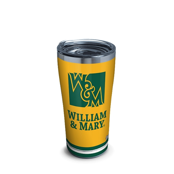 William & Mary Tribe Green and Gold Blocked