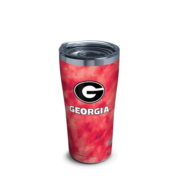 Georgia Bulldogs Tie Dye