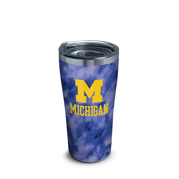 Michigan Wolverines Tie Dye