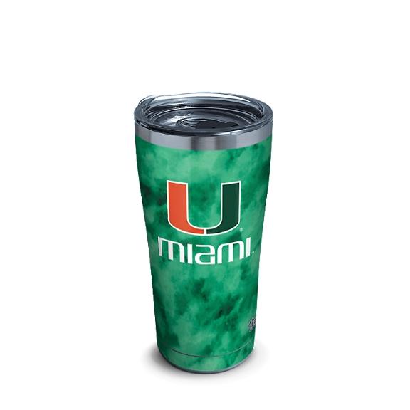 Miami Hurricanes Tie Dye