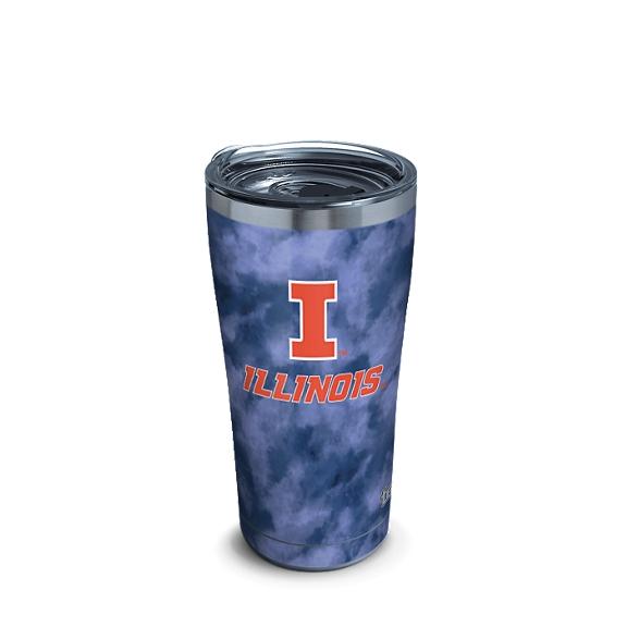 Illinois Fighting Illini Tie Dye