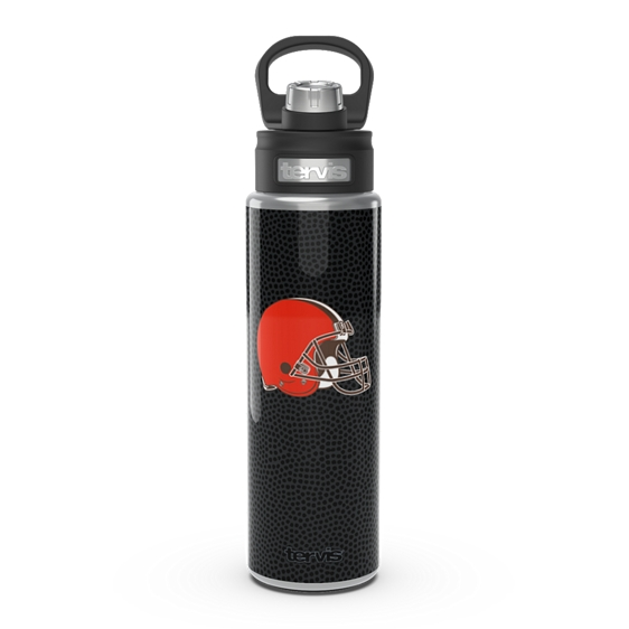 NFL® Cleveland Browns - Black Leather