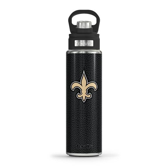NFL® New Orleans Saints - Black Leather